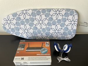 Ironing board / router / Dodgers headphone for Sale in Los Angeles, CA