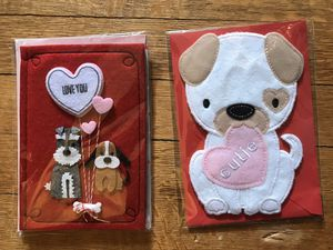 Felt 3D Valentines cards for Sale in Takoma Park, MD