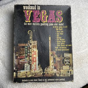 Board Game: Weekend in Vegas 1974 - Research Games, Inc. for Sale in Sacramento, CA