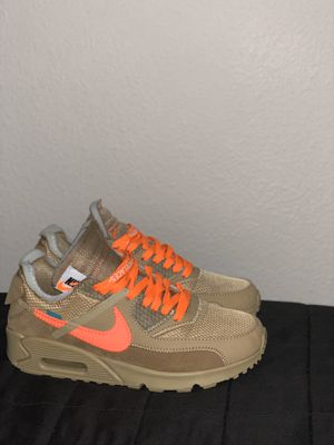 Off white desert ore Air max 90 Nike Jordan for Sale in Houston, TX