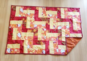 Patchwork Blanket - Hello Kitty for Sale in Pearl City, HI