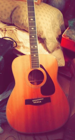 Vintage 1979 original FG-345 Yamaha Acoustic for Sale in Gibsonton, FL