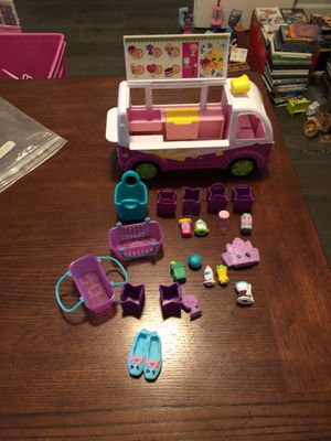 Shopkins ice cream truck and accessories for Sale in McKinney, TX