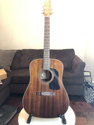 Beautiful Mahogany Washburn D100M Acoustic Guitar for Sale in Richardson, TX