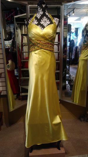 Tiffany Designs Formal Yellow Dress for Sale in Trenton, MI