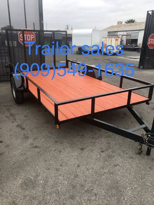 Brand new 8.5x14x1 utility trailer for Sale in Highland, CA