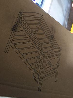 Twin bunk bed for Sale in New Castle, DE