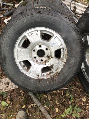 Free studded tires and rims. for Sale in Buckley, WA