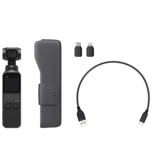"""DJI Osmo Pocket - Handheld 3-Axis Gimbal Stabilizer with integrated Camera 12 MP 1/2.3"""" CMOS 4K Video, Attachable to Smartphone, Android, iPhone, Blac for Sale in Bloomington, IL"""
