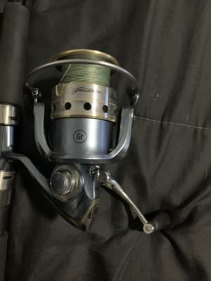 Pflueger President 4000 Fishing Reel and Rod Combo for Sale in Tampa, FL