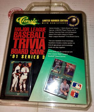 1991 Classic Baseball Card set for Sale in Zanesfield, OH
