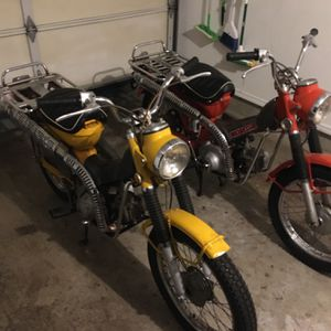Two Honda CT 90's 1970/74 for Sale in Redmond, WA