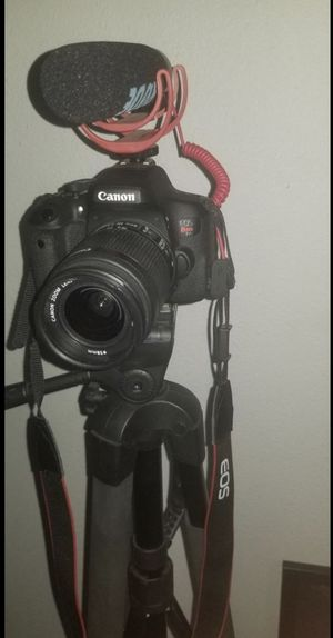Canon Rebel T6i for Sale in Ontario, CA