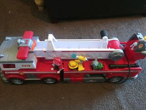 Ultimate Marshal Fire Truck & 4 Pups for Sale in Lake Elsinore, CA
