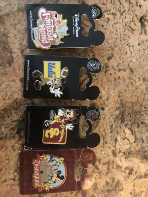 Disney lanyard pins for Sale in Palos Heights, IL