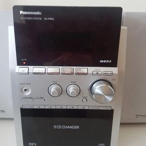 Panasonic CD Stereo Systems Sa-Pm53 , 5CD for Sale in Visalia, CA