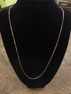 "22"" Gold Chain for Sale in San Bernardino, CA"