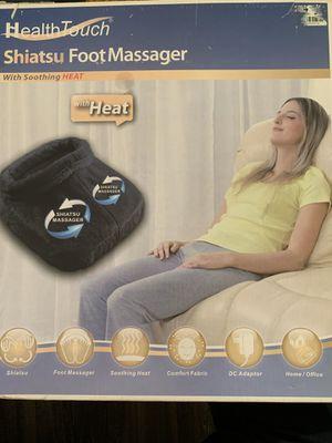 HealthTouch Shiatsu foot massager for Sale in Phoenix, AZ