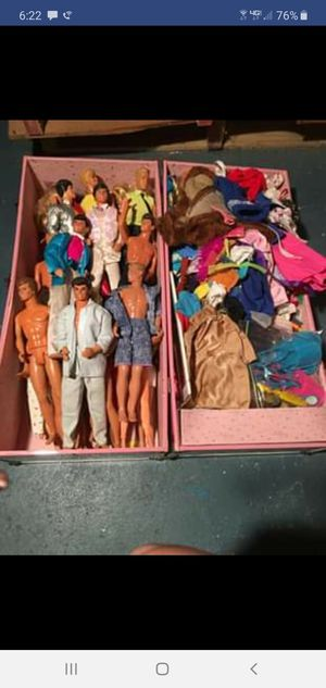 Barbie Collection 80s Dolls, Case, Pool, Bedroom Set, Ice Cream Shop, and Gym for Sale in Waltham, MA