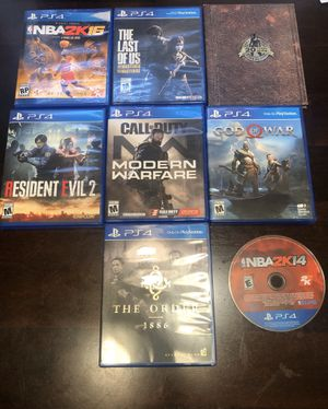 PS4 games for Sale in Tolleson, AZ
