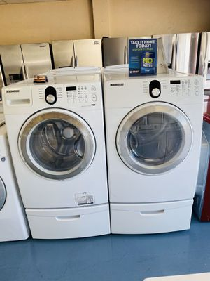 Washer And Dryer With Pedestals for Sale in National City, CA