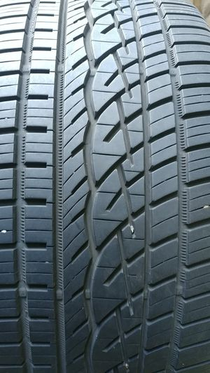 295 40 21 set of 4 used tires continental for Sale in Washington, DC
