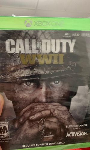 Xbox one call of duty WWII brand new $20 for Sale in Oakton, VA