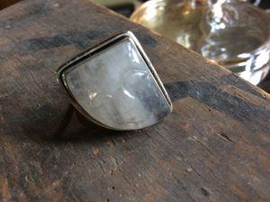 Carved Moonstone Ring, Sterling Silver for Sale in Farmington Hills, MI