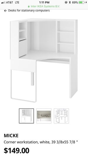 IKEA corner desk for Sale in Puyallup, WA