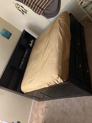 Full Captains bed frame for Sale in Phoenix, AZ