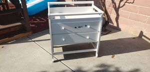 Baby changing table & drawer for Sale in Santa Ana, CA