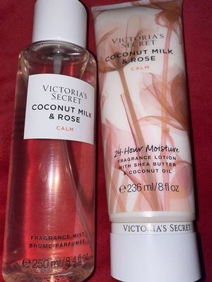 2pc Victoria's Secret Fragrance Mist And Lotion Set for Sale in Oklahoma City, OK