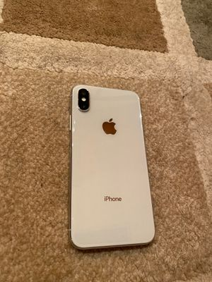Silver iPhone X 256GB for Sale in Vancouver, WA
