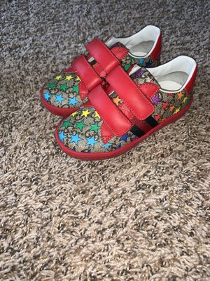 Kids Gucci Shoes 100% authentic size 25 (9 in little kids) for Sale in Euclid, OH