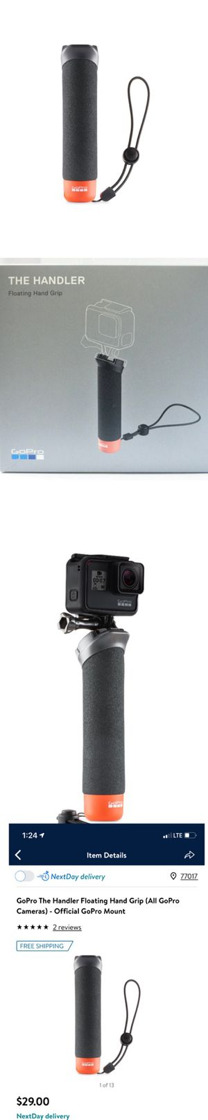 GoPro Floating Hand Grip (2) / $25 for Sale in Houston, TX