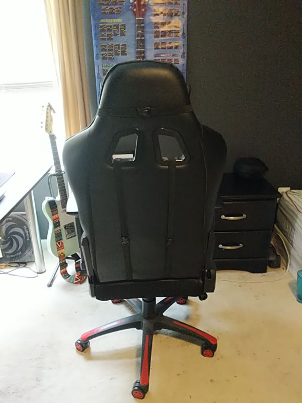 Red & Black Gaming Chair Extremely Comfortable