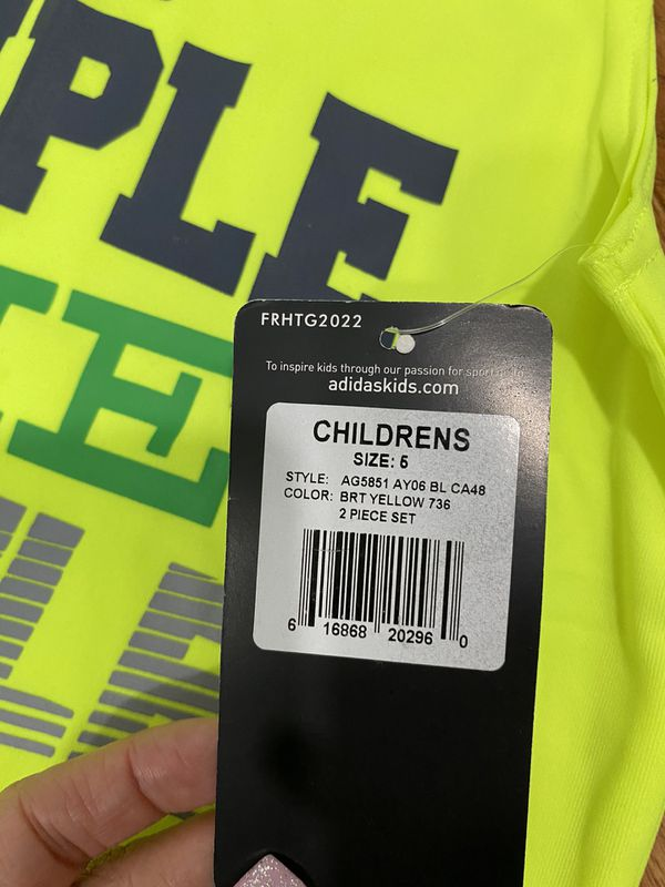 Kids shirt and shorts size 5 (Brand New with Tags)