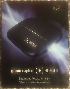 elgato HD 60 S game capture for Sale in Salinas, CA