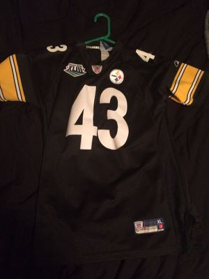TROY POLAMALU - XL - Onfield Reebok stitched jersey for Sale in Portland, OR