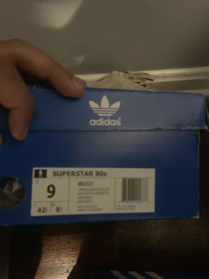 Gold Adidas Superstars (Barely Worn, don't use much) Serious people only, in need of money. for Sale in Hyattsville, MD