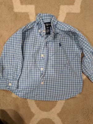 Toddler plaid shirts/ baby boy romper for Sale in Wheaton, IL