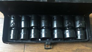 Pittsburgh Swivel Socket Set. Distributed By The Harbor Fright Salvage Co....... for Sale in Atlanta, GA