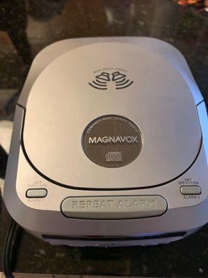 Magnavox CD Player/Alarm Clock for Sale in Arlington, VA