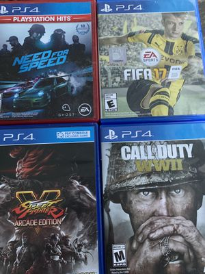Ps4 games for Sale in Aurora, CO