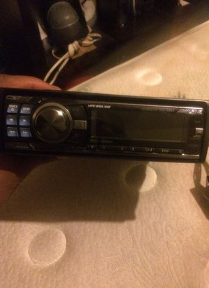 Alpine CD player car system wit hook up cords n face off 125 for Sale in St. Louis, MO