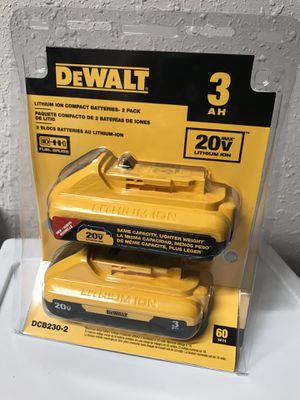 Brand New Dewalt 3.0 Batteries for Sale in Hilo, HI