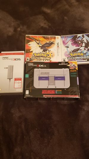 New 3ds super Nintendo limited edition for Sale in Fort Worth, TX