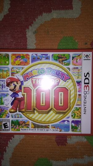 Mario party the top 100 for Sale in Hesperia, CA