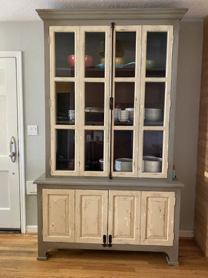 High End Rustic Display Hutch for Sale in Portland, OR