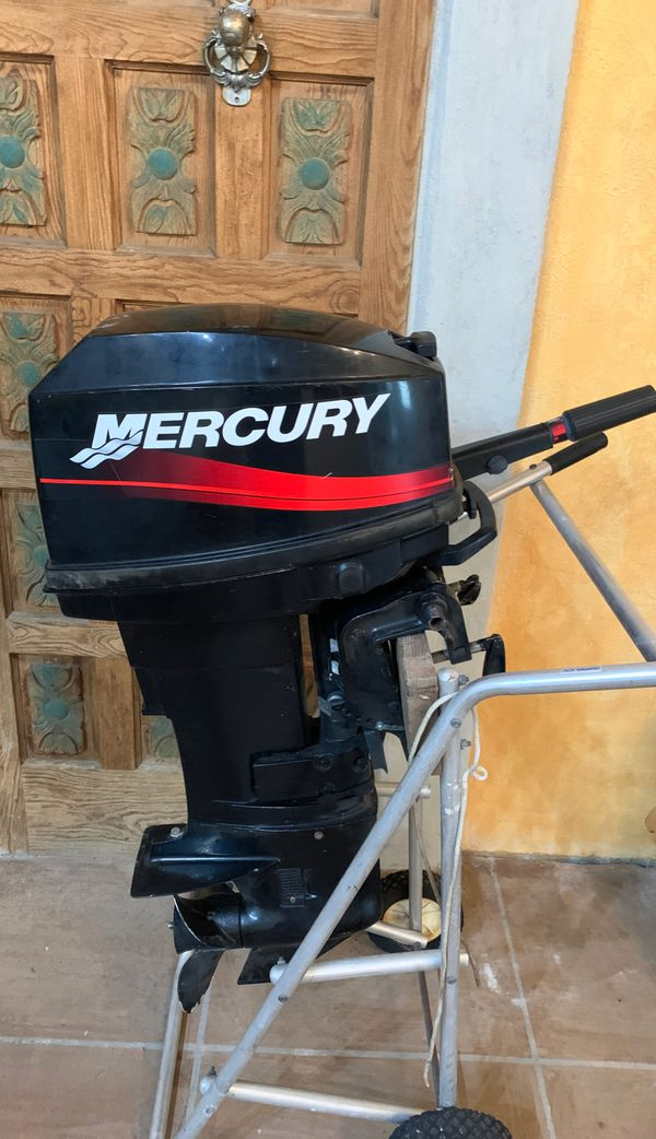 Mercury 25 Hp Outboard Motor  1200 For Sale In Palm Beach Shores  Fl